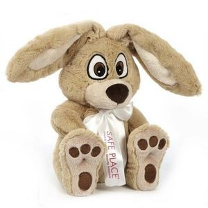 "10"" Big Paw Bunny Stuffed Animal"