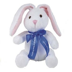 "10"" Extra Soft White Bunny Stuffed Animal"