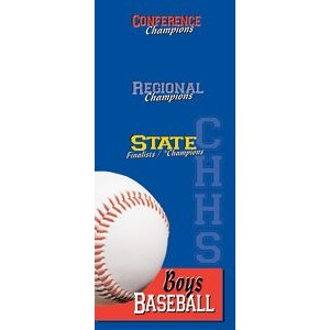 "Two-Sided Pole Banner 30""x60"" - Vinyl"