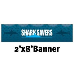 Full Color Banner 2'x8' - Vinyl